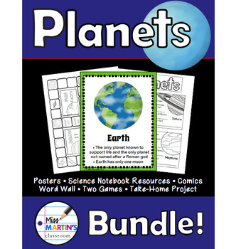Planets Science Bundle
