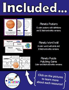 Planets Science Bundle