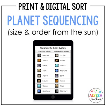 Planets Sequencing Cards (SOL 4.7)