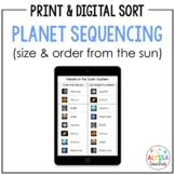 Planets Order Sequencing Cards (SOL 4.7)