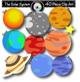 Planets Solar System Clip Art