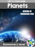 Planets - Solar System Research Unit