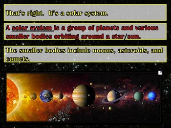 Planets, Solar Systems, Galaxies, Constellations, & How They Move PPT