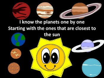Planets Song