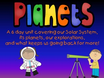 Planets,  Space, and Stars:  A Mini Unit