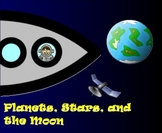 Planets, Stars, and the Moon - A Second Grade Smartboard Space Review