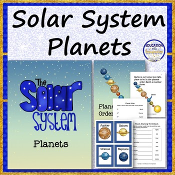 PLANETS Story and Theme Activities