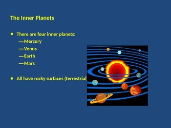 Planets / Sun / Space Objects - PowerPoint
