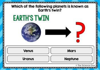 Planets Task Cards - Digital Boom Cards™