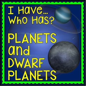 Solar System: Planets and Dwarf Planets