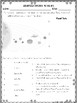 Planets and Earth's Moon Notes and Activities