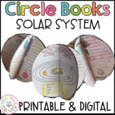 Solar Systems and Planets   Circle Book Craftivity Printab