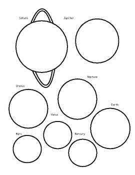 Planets and Solar System Class Activity