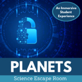 Planets and Solar System Escape Room