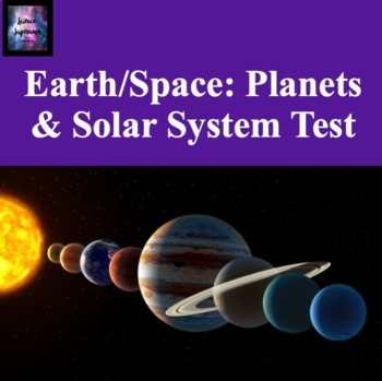 Planets and Solar System Test