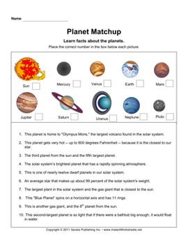 planets and space worksheets by savetz publishing tpt. Black Bedroom Furniture Sets. Home Design Ideas