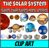 The Solar System Clip Art