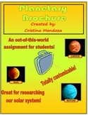 Planets in our Solar System Planetary Brochure