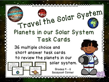 Planets in Our Solar System Task Cards