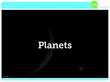 Kids Present: Planets of Our Solar System