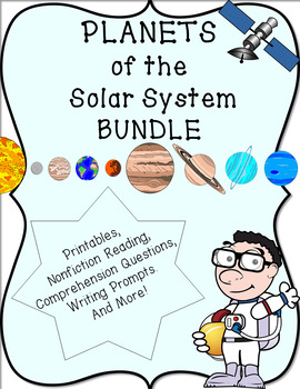 Planets of Our Solar System Bundle