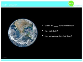 Kids Present: Planets of Our Solar System - Earth
