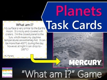 Planets of Our Solar System Task Cards {with PHOTOS for di