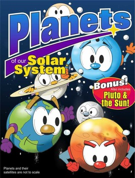 Planets of our Solar Sytem Clip Art Pack for Planet Related Activities