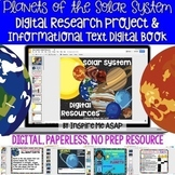 Planets of the Solar System Digital Research Project & Inf