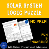 Planets of the Solar System Logic Puzzle - Great for Critical Thinking!