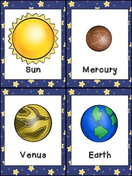 Planets of the Solar System- Nonfiction Leveled Reader- Kindergarten 1st Grade
