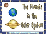 Planets of the Solar System- Nonfiction Shared Reading- Kindergarten 1st Grade
