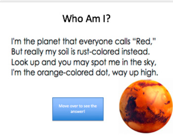 Planets of the Solar System PowerPoint