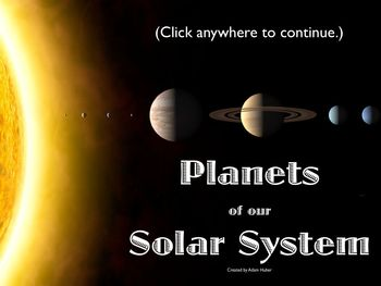Planets of the Solar System Review Game (Keynote)