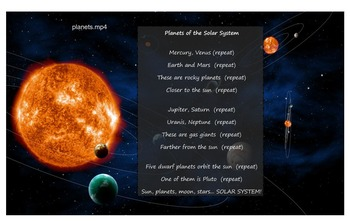 Planets of the Solar System Song
