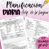 Planificación ADQ de la Lengua - segundo grado