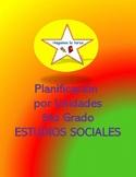 Planificación de 5to grado - Estudios Sociales