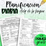 Planificación de ADQ de la Lengua - primer grado