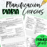 Planificación de Ciencia - primer grado