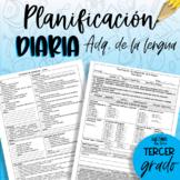 Planificación de tercero ADQ - de la Lengua.