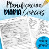 Planificación tercer grado - ciencias