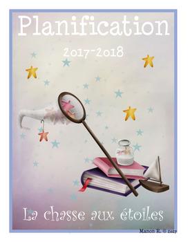 Planificateur 2017-2018 (Teacher Planner) 3 AM-2 PM