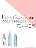 Planificateur 2018-2019 : 6 périodes