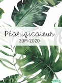 Planificateur 2019-2020 - monstera
