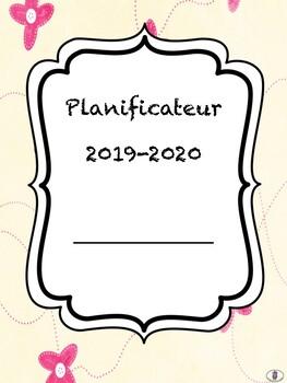 Planificateur 2019-2020 (sans périodes déterminées)