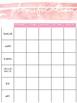 Planificateur 6/7 périodes - Notes et fin de semaine
