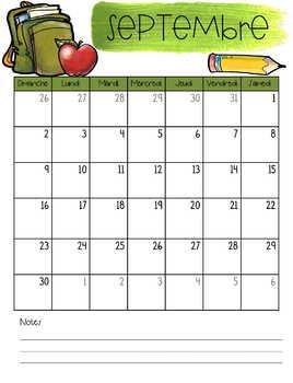 Planificateur / Agenda Cactus