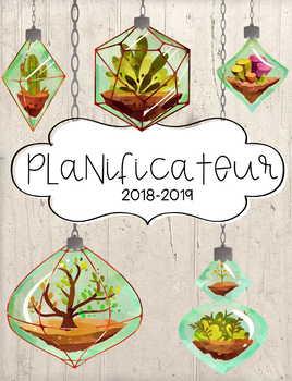 Planificateur /Agenda Terrarium