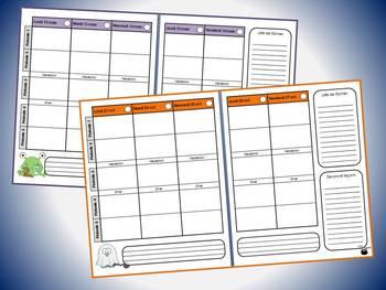 Planificateur - Guide de planification 2017-2018 - 5 périodes (v5)