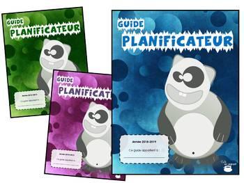 Planificateur - Guide de planification 2018-2019 - 5 périodes